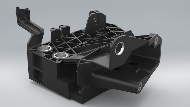 Absorber aus PA6 GF30 BASF Ultramid B3WG6